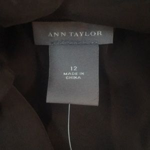 Ann Taylor Tops - Ann Taylor silk beaded halter top